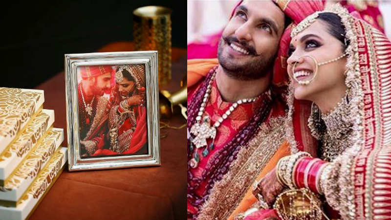 Deepika Padukone and Ranveer Singh gift silver plated frames as return gift to their guests