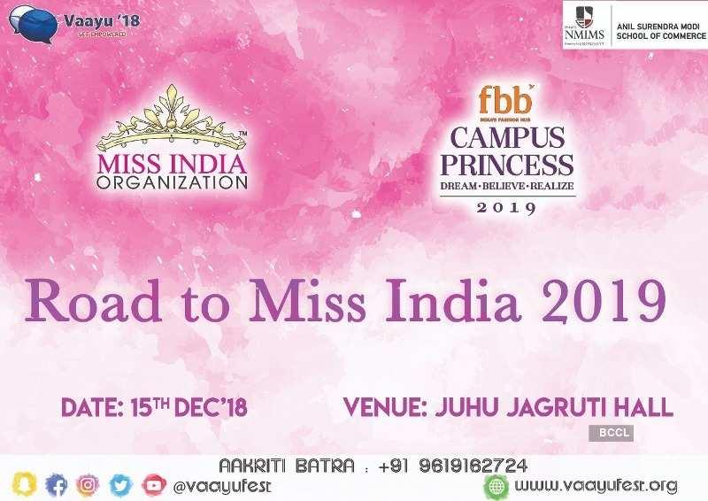 fbb Campus Princess 2019 auditions in Vaayu, Mumbai