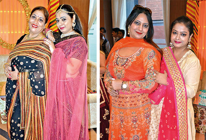 (L) Neelam and Shagun (R) Sweety and Preety (BCCL/ IB Singh)