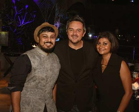 Abhishek Dutta,Shaun & Pinki Kenworthy