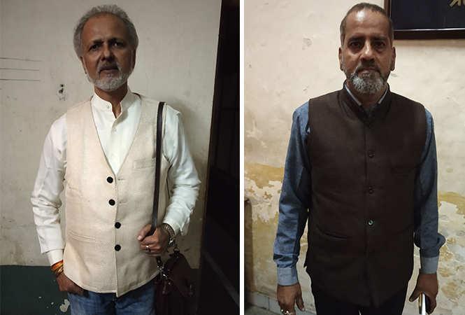 (L) JP Singh (R) Nawal Shukla (BCCL/ Abhishek Shukla)