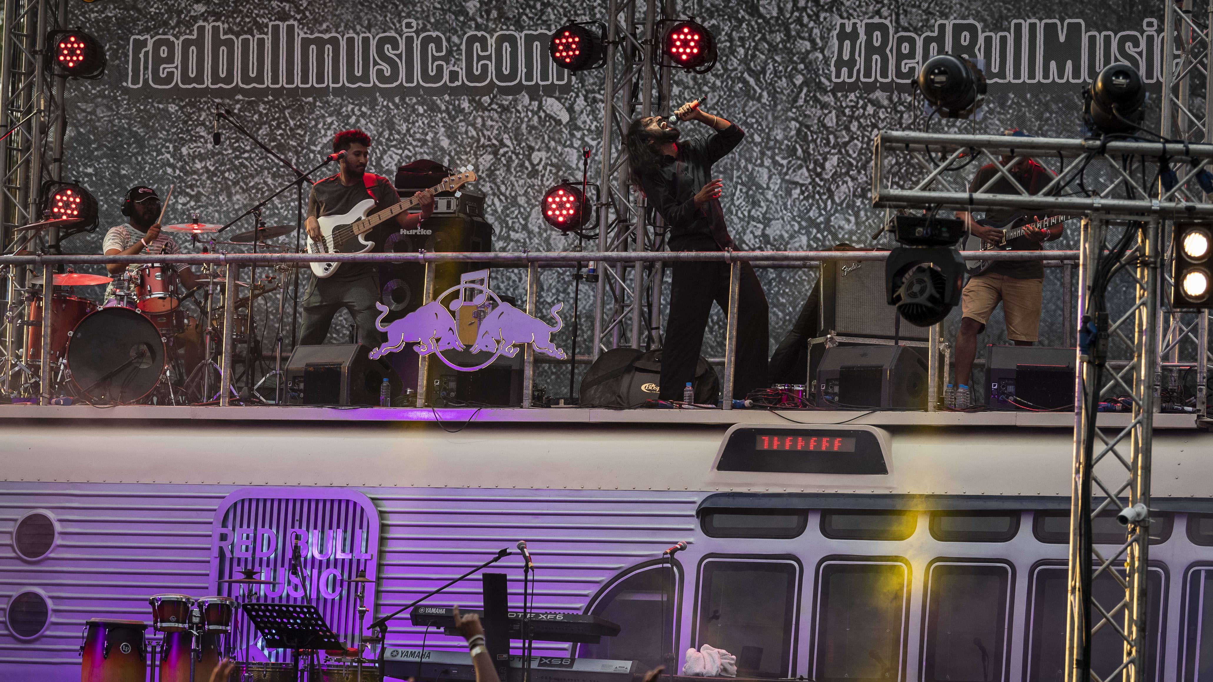 Red Bull Music Presents Benny Dayal, Thaikkudam Bridge and Thakara at Ma...