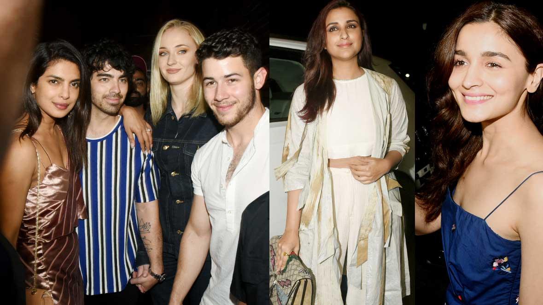 Priyanka Chopra-Nick Jonas party with Joe Jonas-Sophie Turner, Parineeti Chopra, Alia Bhatt