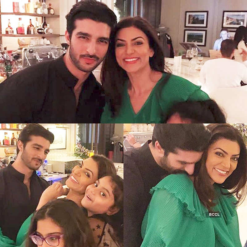 New workout pictures of Sushmita Sen & BF Rohman Shawl will help you to stay fit amid lockdown!
