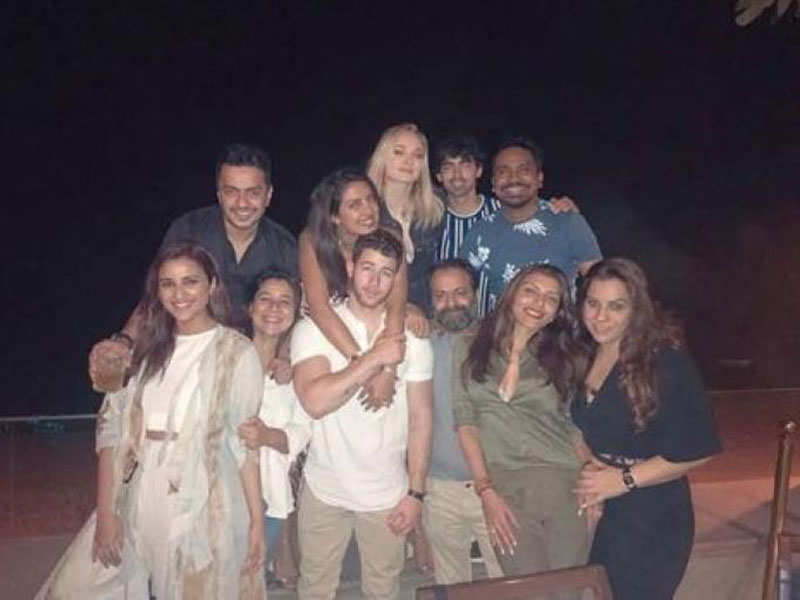 Parineeti Chopra S Rumoured Boyfriend Attended Priyanka Chopra And
