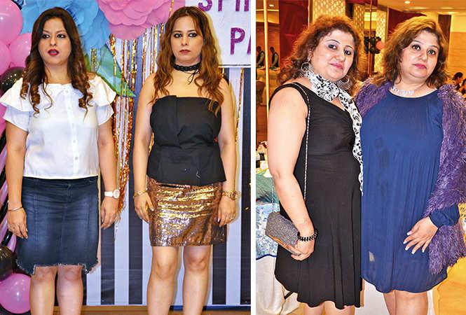 (L) Kawaljeet and Vinni (R) Mohita and Nidhi (BCCL/ IB Singh)