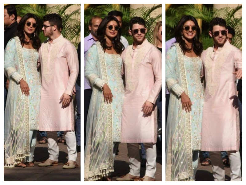 Image result for The couple leaves for the airport after completing the puja