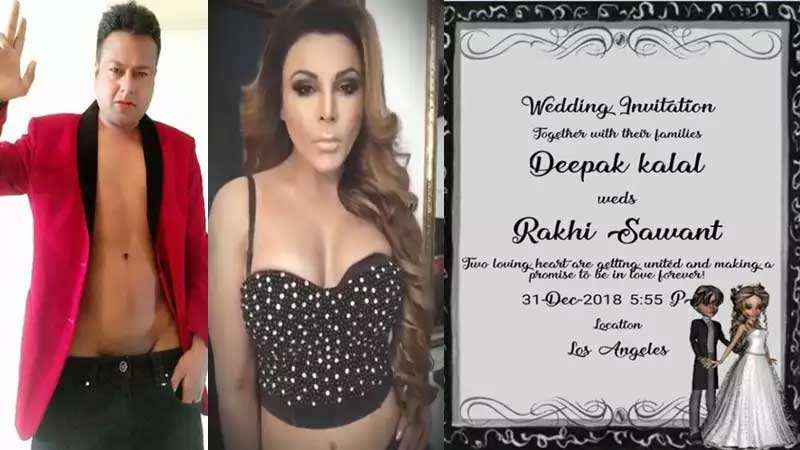 Rakhi Sawant to tie the knot with Deepak Kalal in Los Angeles
