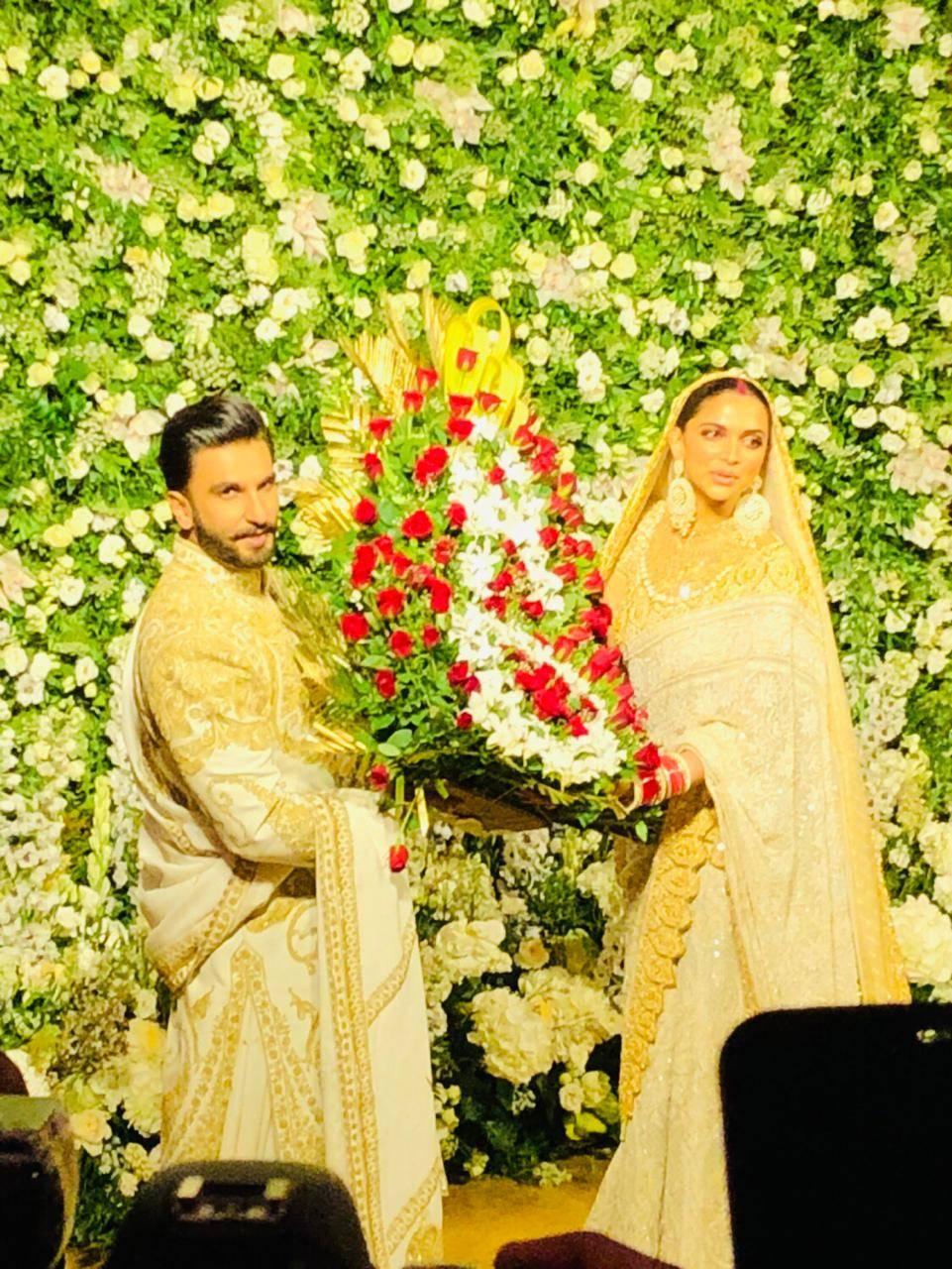 Deepika Padukone and Ranveer Singh Wedding Reception in Mumbai Photos and Videos