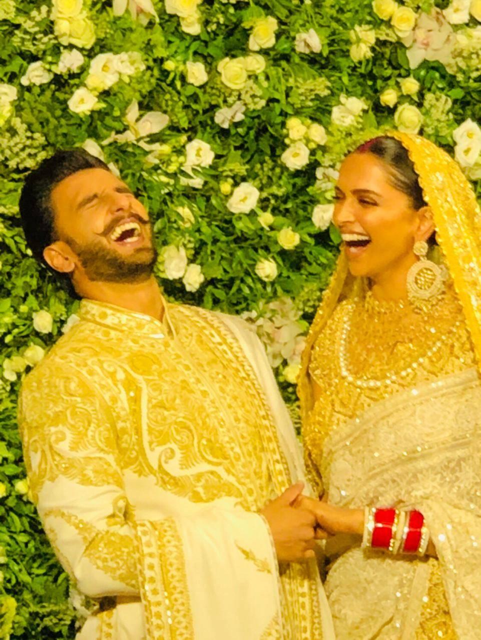 Deepika Padukone and Ranveer Singh Reception in Mumbai ...