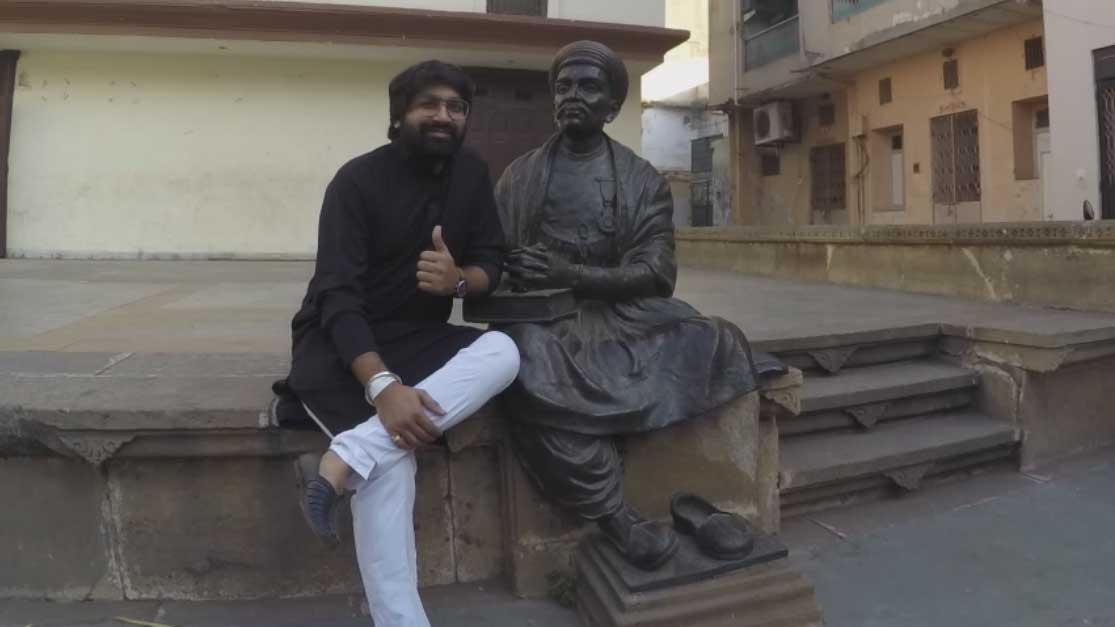 Malhar Thakar went for Ahmedabad Heritage Walk