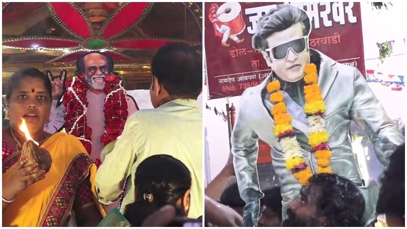 2.0: Fans spotted worshipping posters of Rajinikanth