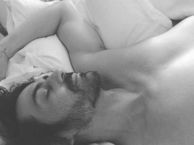 Image result for arjun rampal sleeping