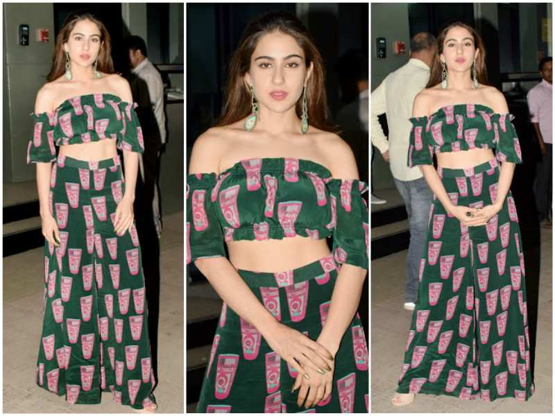 260e44aa91c Picture  Sara Ali Khan makes style statement during  Kedarnath  promotions