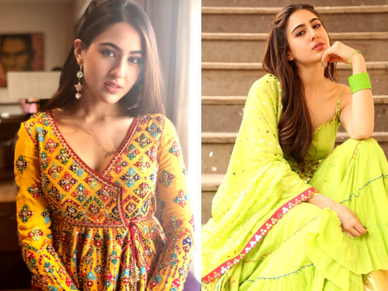 Sara Ali Khan S Most Stylish Indian Outfits