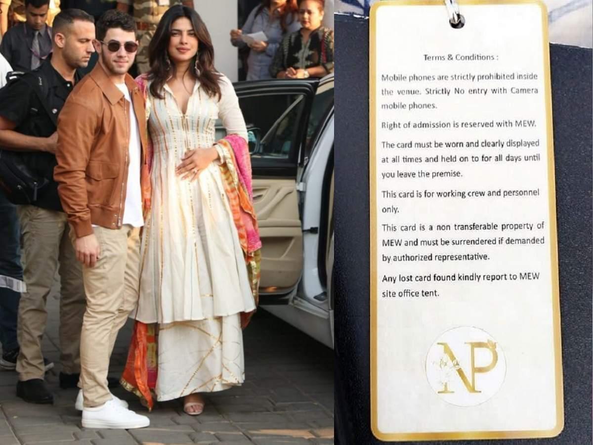 Nick Jonas and Priyanka Chopra's Wedding, Big Laughs, Family Traditions and Fireworks