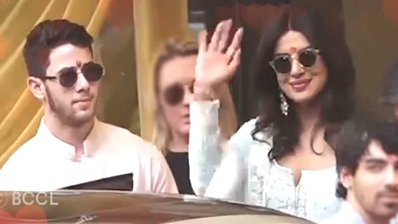 Priyanka Chopra and Nick Jonas tie the knot in a Christian wedding ceremony