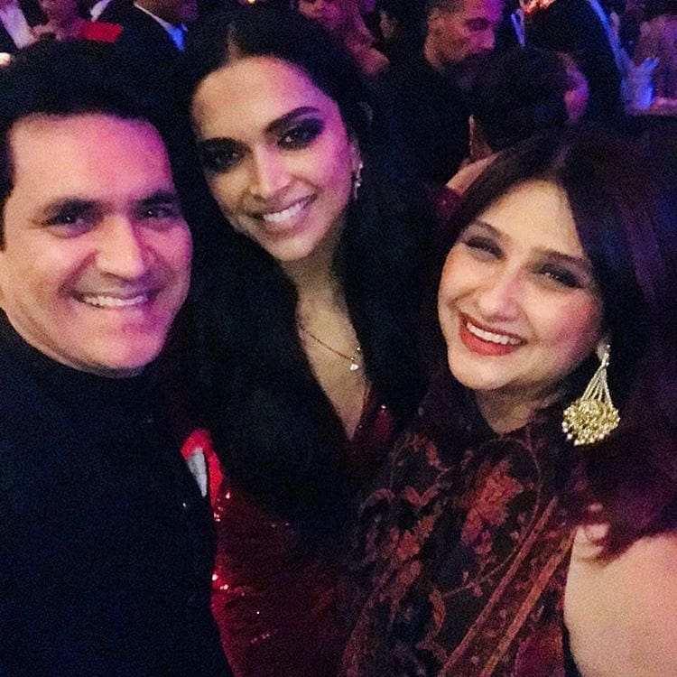 Deepika Padukone and Ranveer Singh reception Inside photos