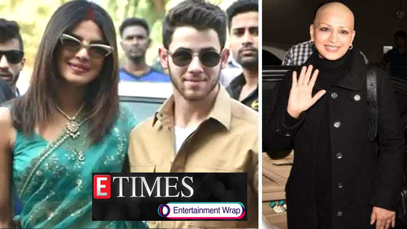 PETA accuses Priyanka Chopra-Nick Jonas of 'animal cruelty'; Sonali glitters with joy as she returns to Mumbai, and more