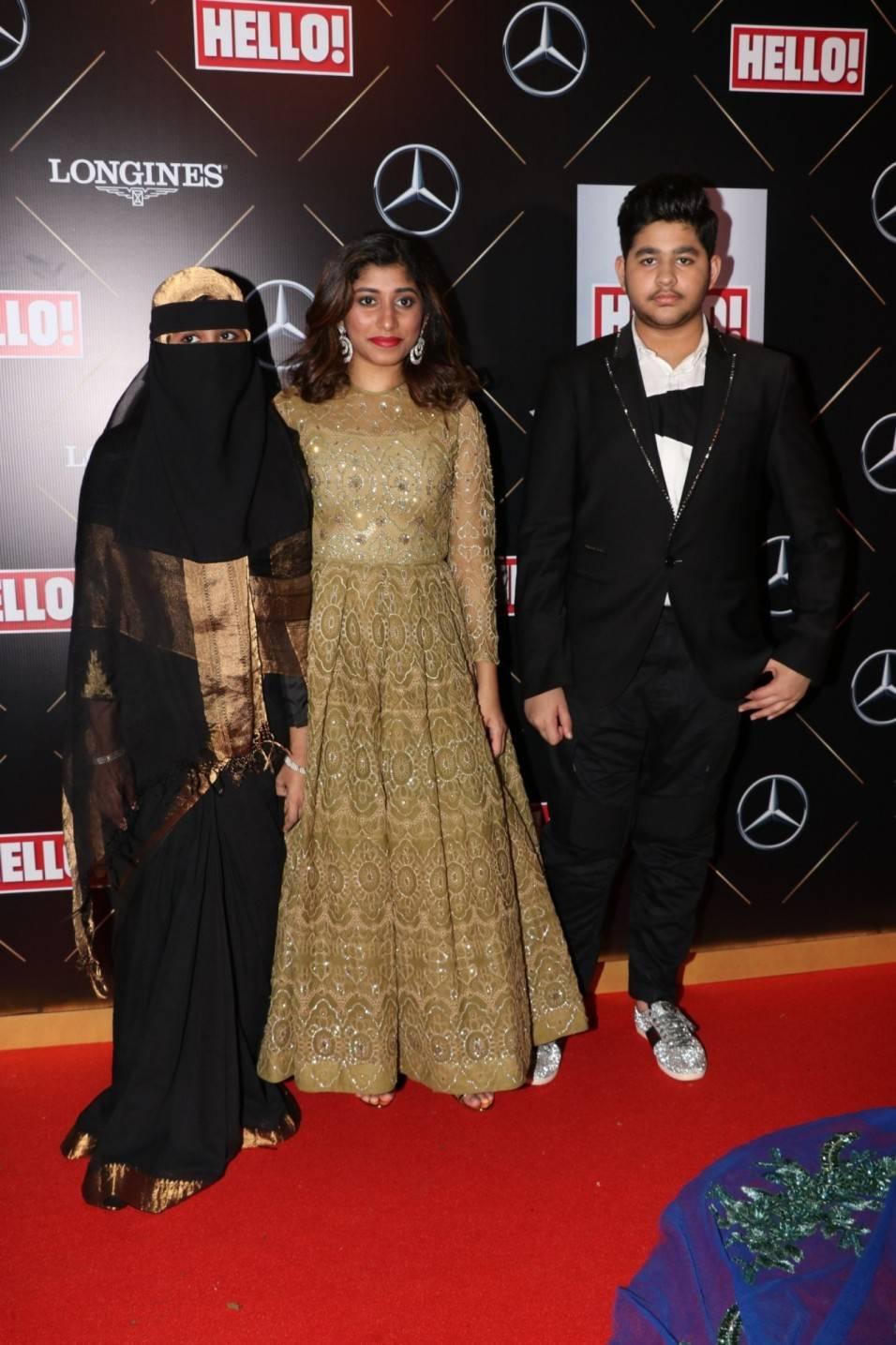 Debutants Khatija, Raheema and Ameen Rahman