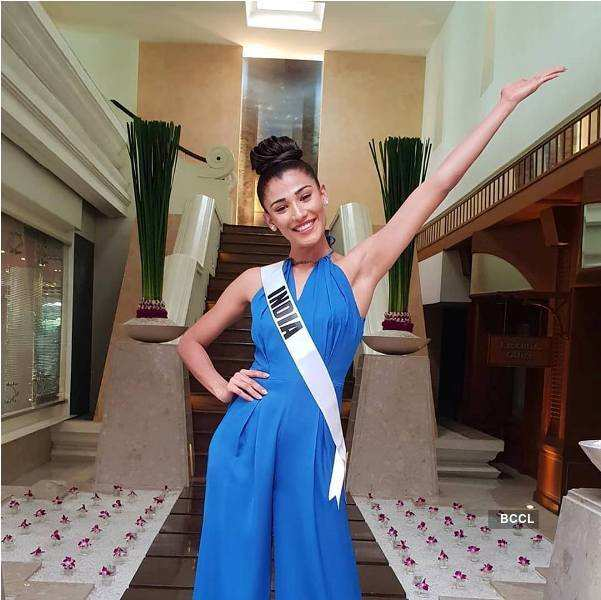 Nehal Chudasama's journey at Miss Universe 2018