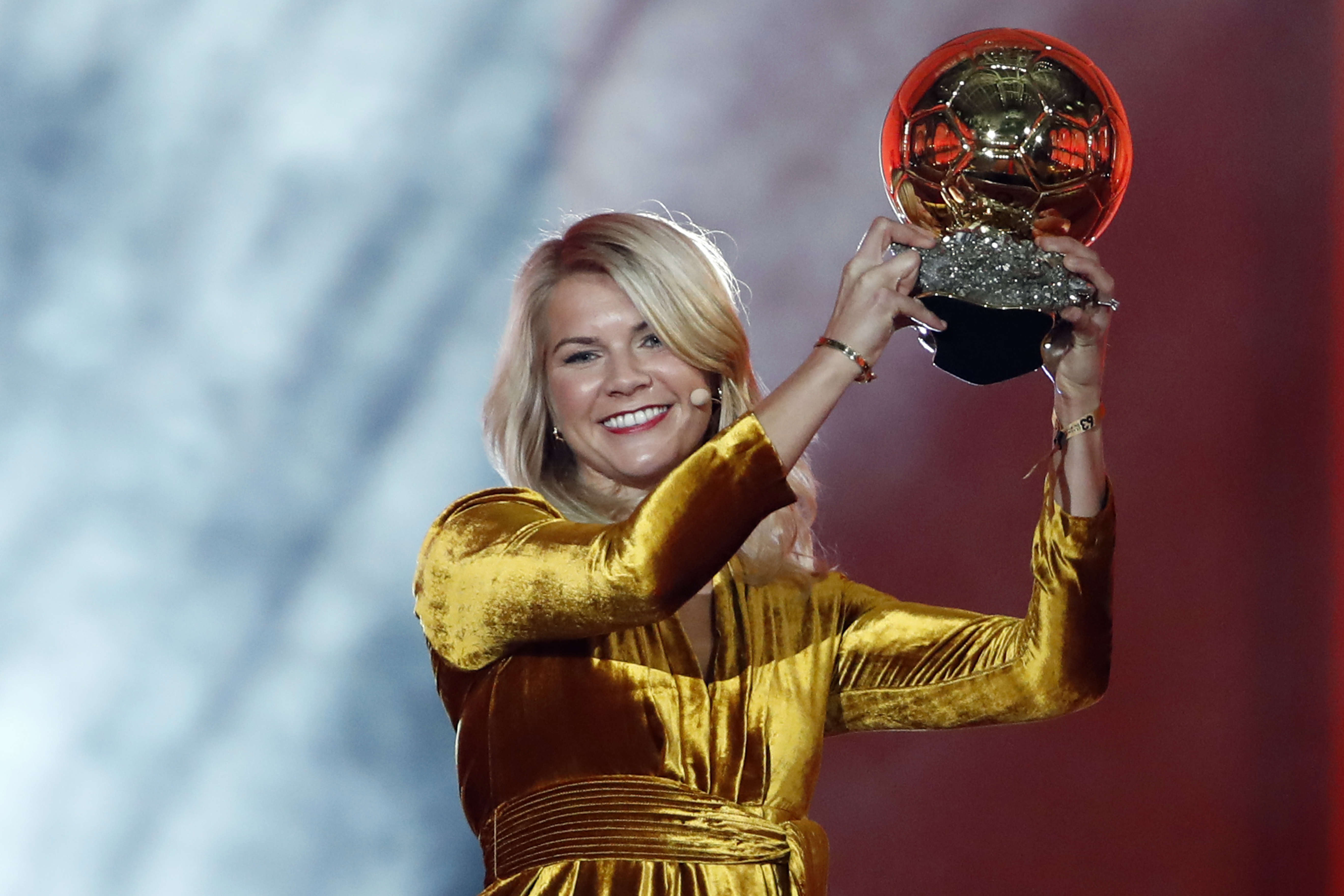DJ Solveig takes a rap for twerking question to Ballon d'Or winner Ada Hegerberg