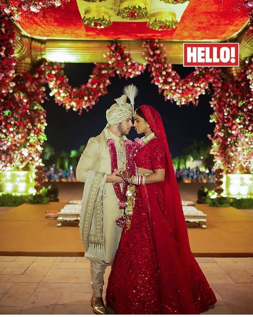 Priyanka Chopra and Nick Jonas marriage pictures