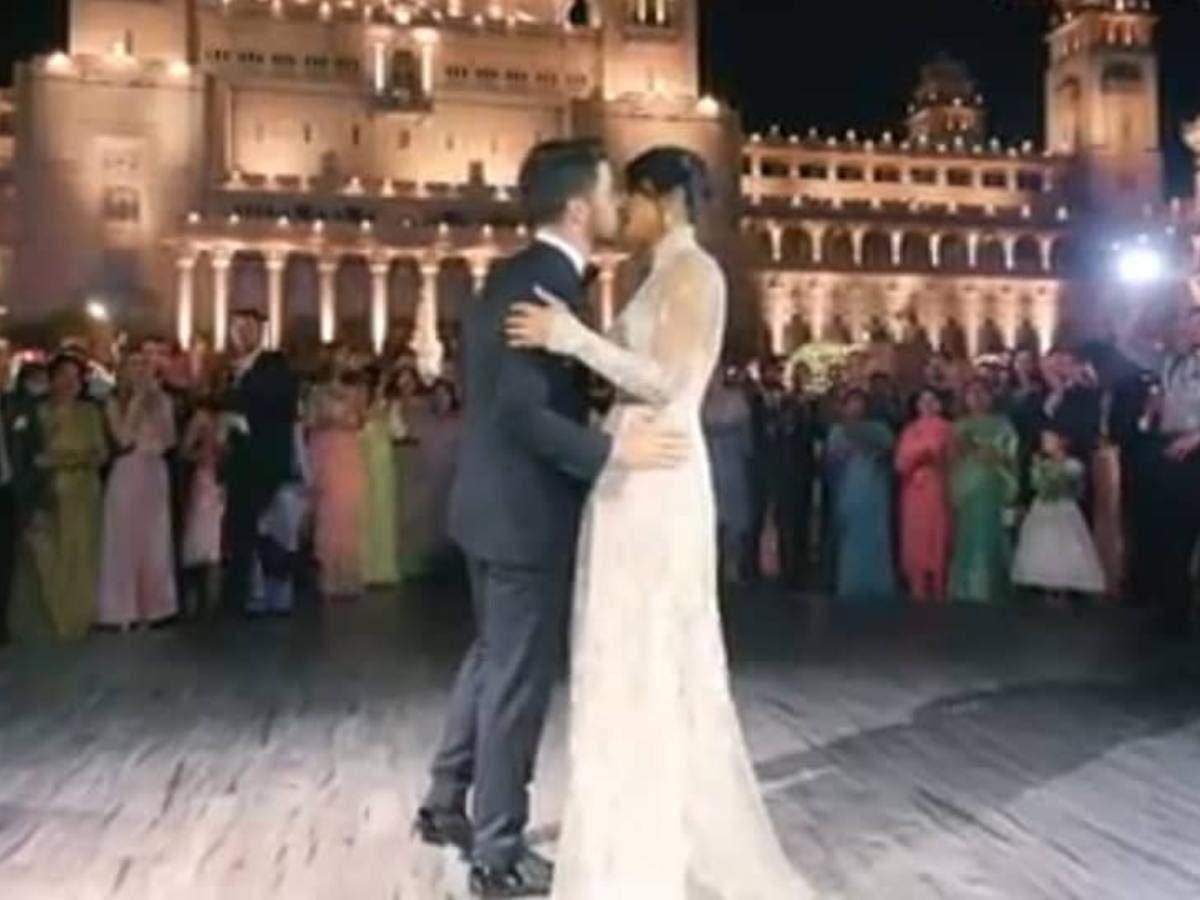 Priyanka Chopra Nick Jonas Kissing photos videos images pictures