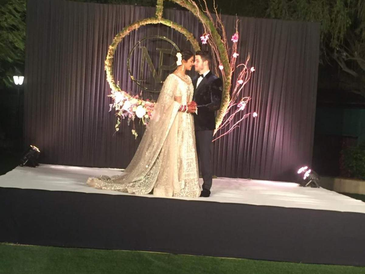 Nick Jonas and Priyanka Chopra marriage reception photos, images, pictures