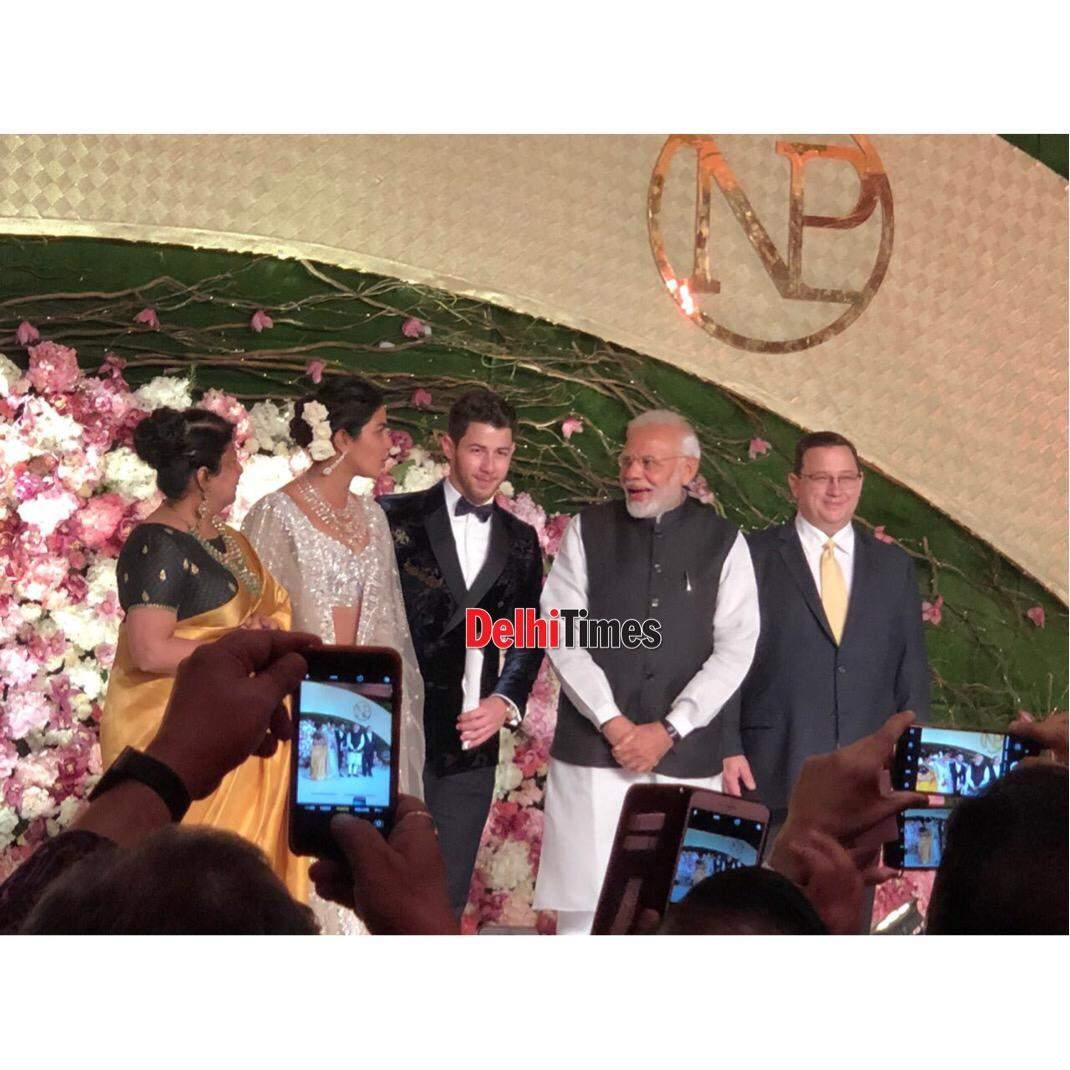 Priyanka Chopra and Nick Jonas wedding reception photos, images, videos