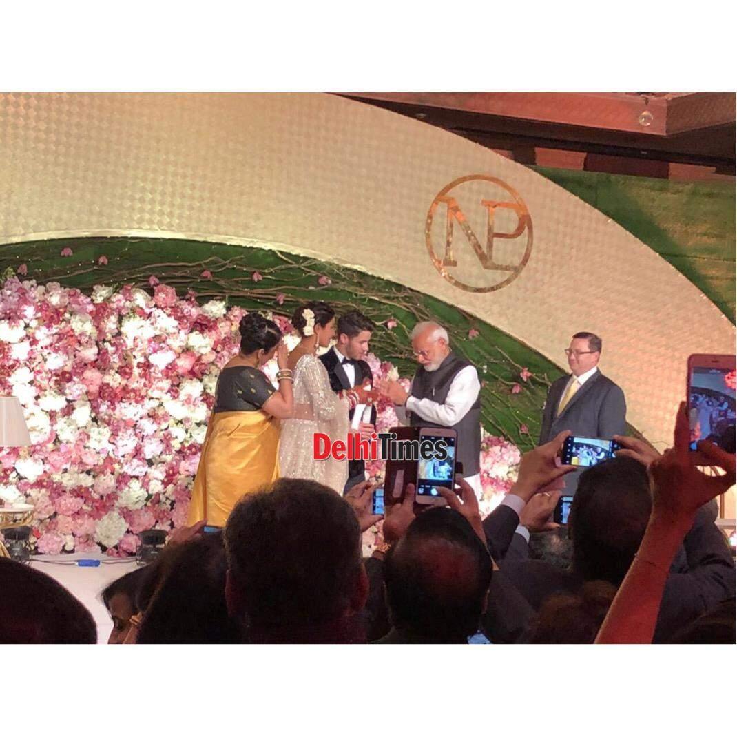 Priyanka Chopra and Nick Jonas wedding reception photos, pictures, images, videos