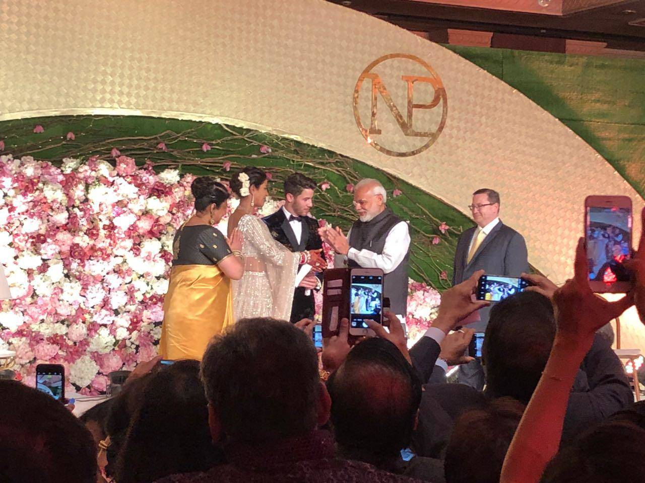 Priyanka Chopra and Nick Jonas wedding reception pictures, photos, images, videos