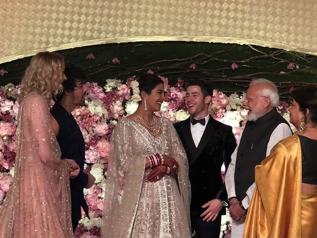 PM Narendra Modi attends Priyanka Chopra and Nick Jonas wedding reception