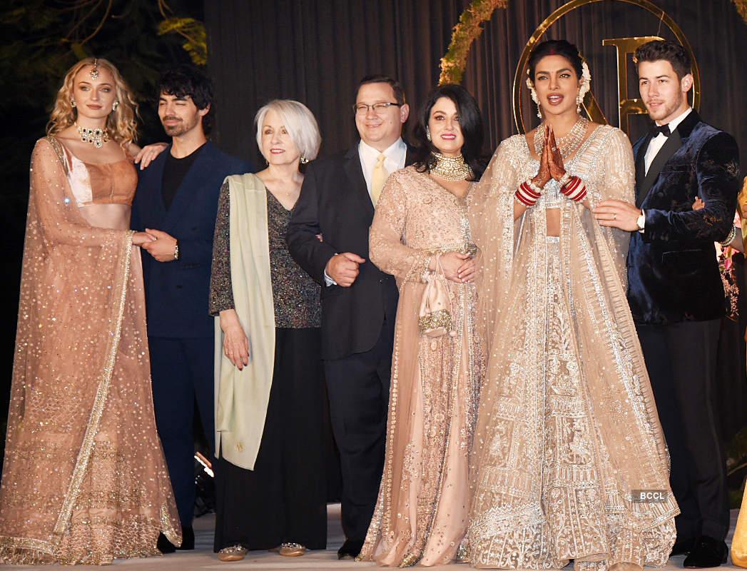 Unseen pictures from Priyanka Chopra and Nick Jonas's lavish Bollywood reception