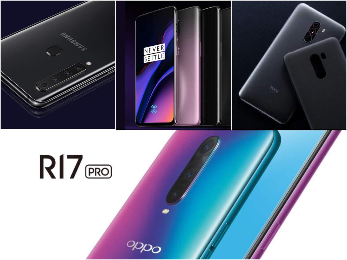 Oppo R17 Pro vs Samsung Galaxy A9 (2018) vs OnePlus 6T vs Xiaomi Poco F1: Which is the most 'powerful' smartphone