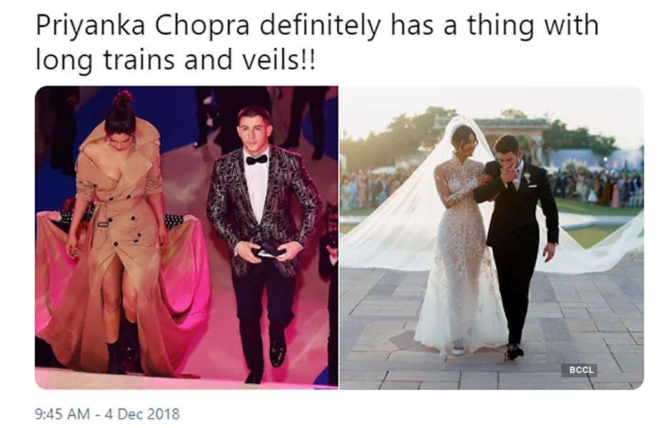 Priyanka Chopra S 75 Feet Veil Gets Trolled Sparks Hilarious Memes Pics Priyanka Chopra S 75 Feet Veil Gets Trolled Sparks Hilarious Memes Photos Priyanka Chopra S 75 Feet Veil Gets Trolled Sparks Hilarious Memes Portfolio