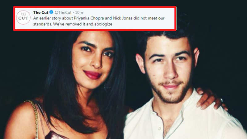 After backlash, New York magazine removes controversial Priyanka Chopra article, issues apology