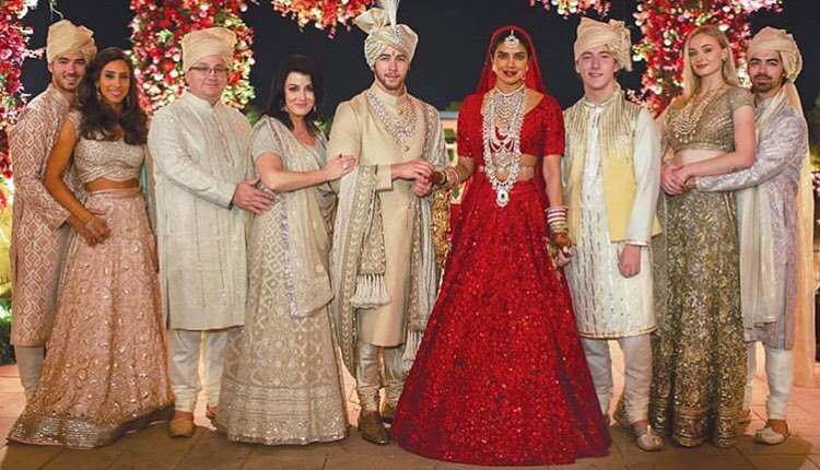 Priyanka Chopra and Nick Jonas Hindu wedding Photos, marriage pictures and images