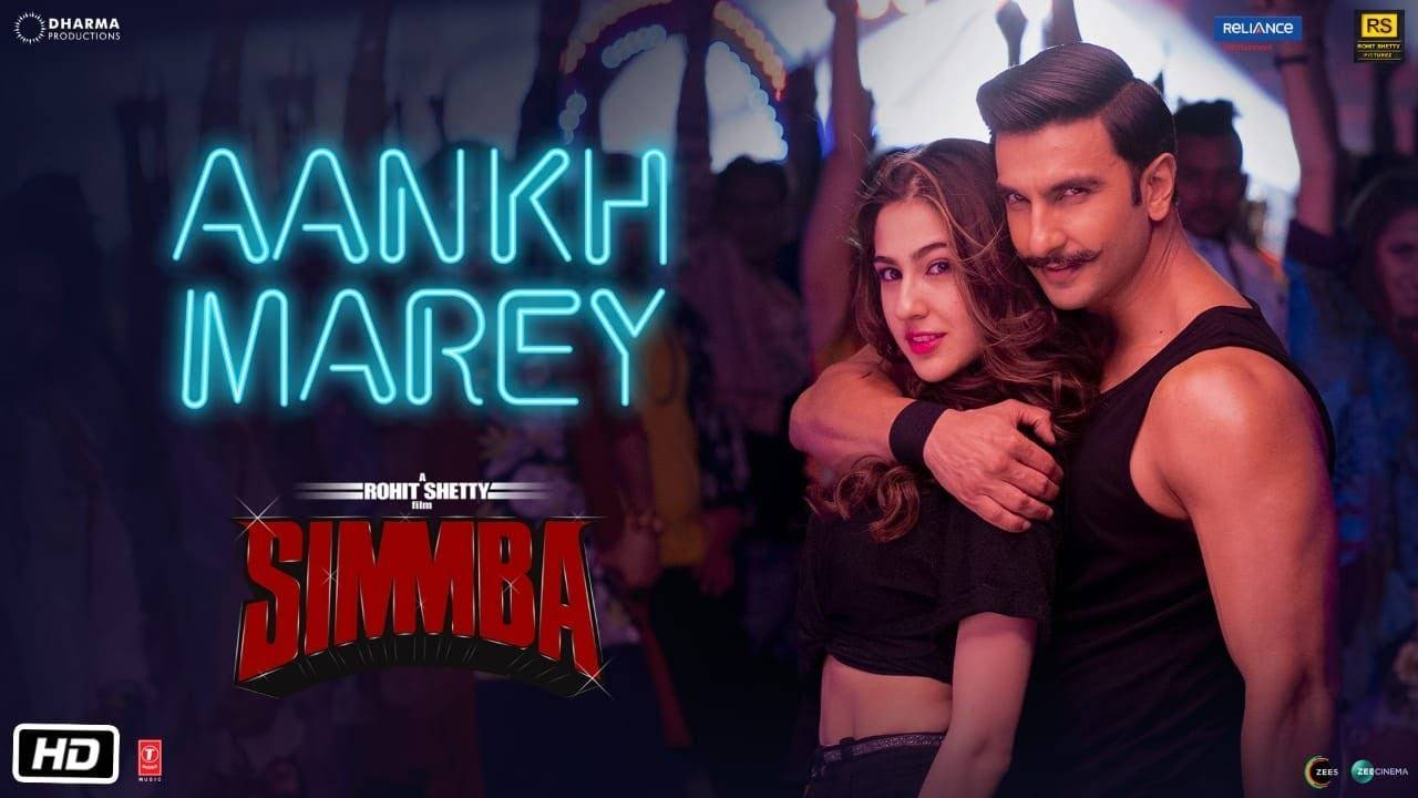 Simmba | Song - Aankh Marey