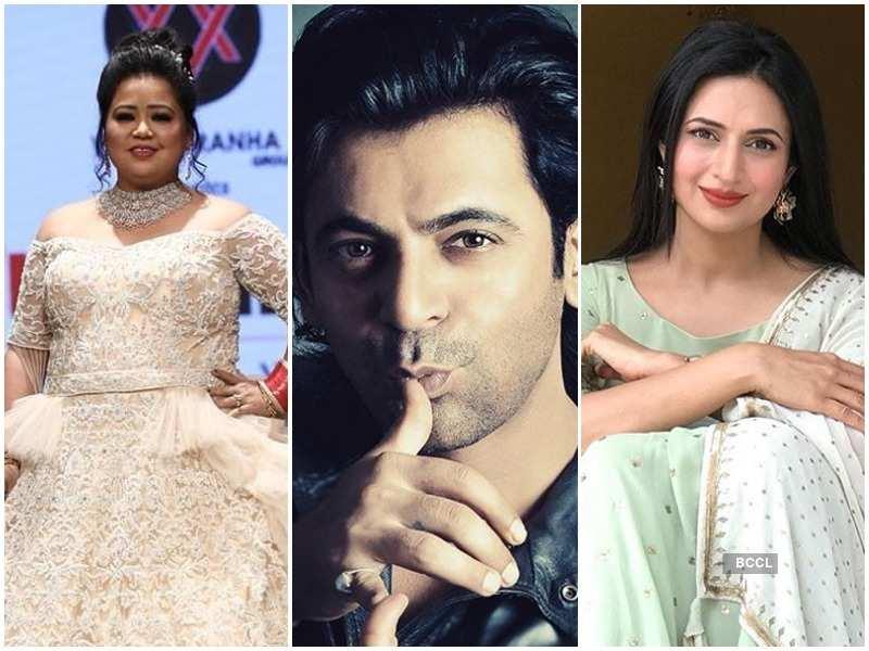Bharti Singh, Sunil Grover and Divyanka Tripathi are the