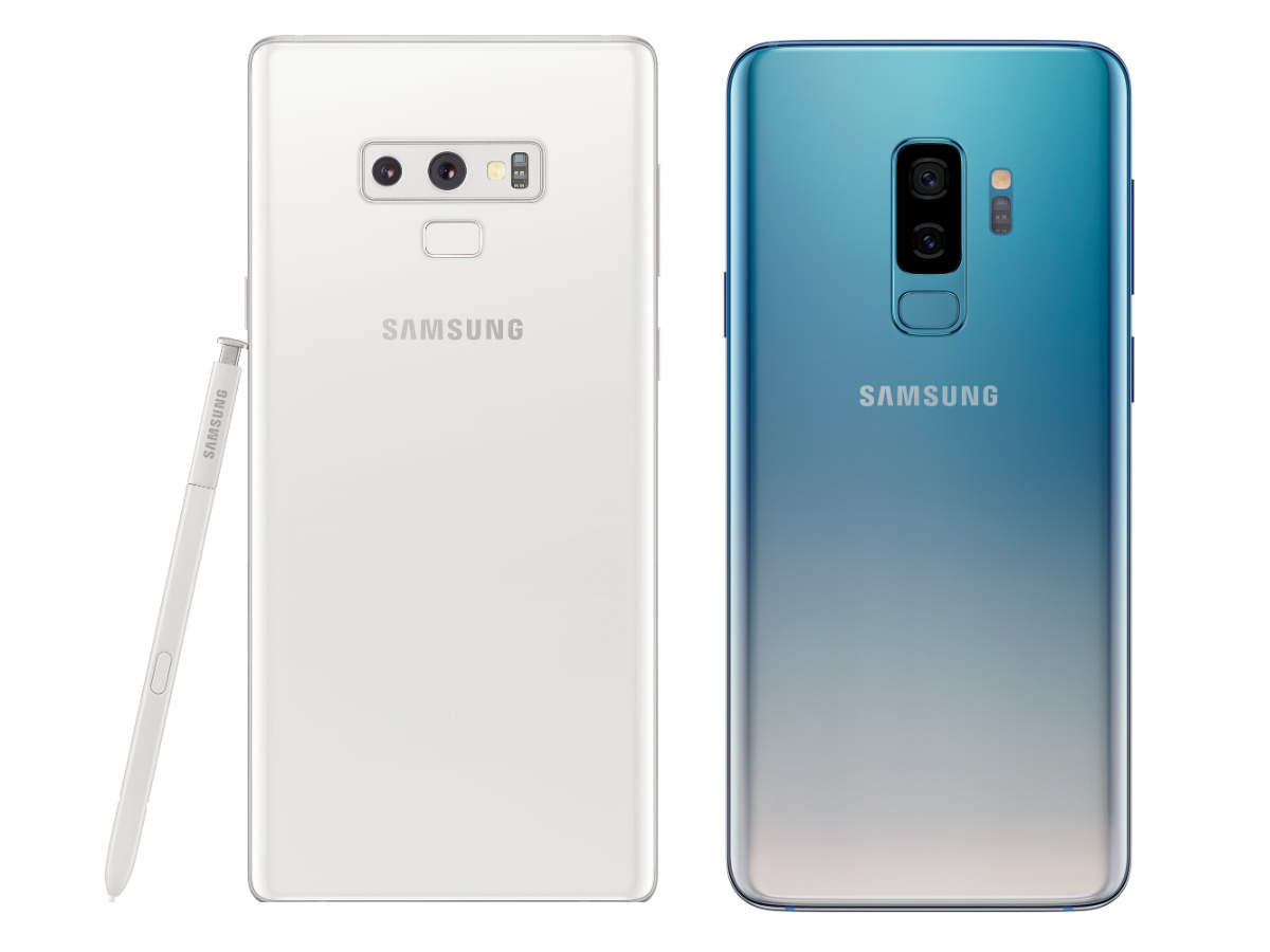 Samsung Galaxy Note 9 Alpine White, Galaxy S9+ Polaris Blue colour variants launched in India - Mobiles News | Gadgets Now