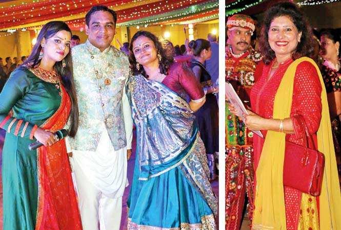 (L) Alka Roy, Nishant Newar and Sonia Maru (R) Deepa Gupta  (BCCL/ Unmesh Pandey)