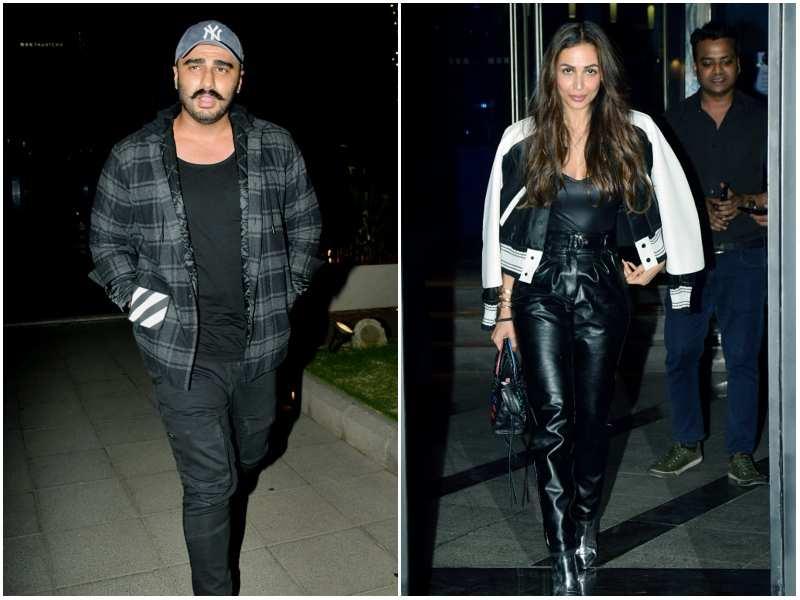 Malaika Arora Spotted On A Dinner Date With Arjun Kapoor