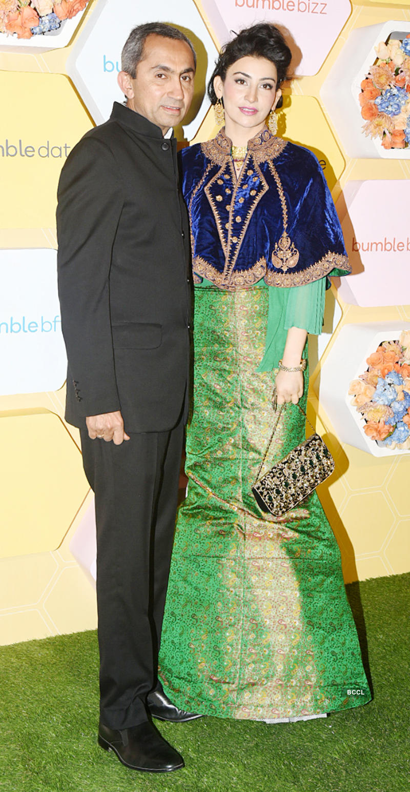 Newlyweds Priyanka Chopra and Nick Jonas grace an app launch party