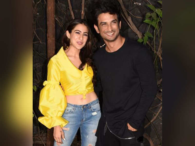 Sara Ali Khan reveals kissing scene with Sushant Singh Rajput was one of  the easiest scenes