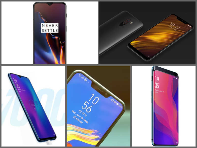 ​12 'most-powerful' smartphones launched in 2018 in India | Gadgets Now