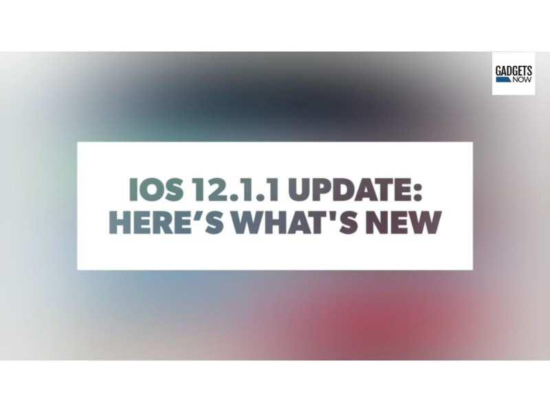 ios 12 1 update