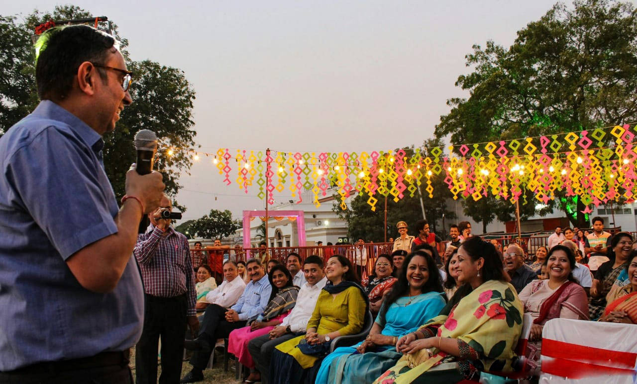 Age is no bar, as performers of all age groups take part