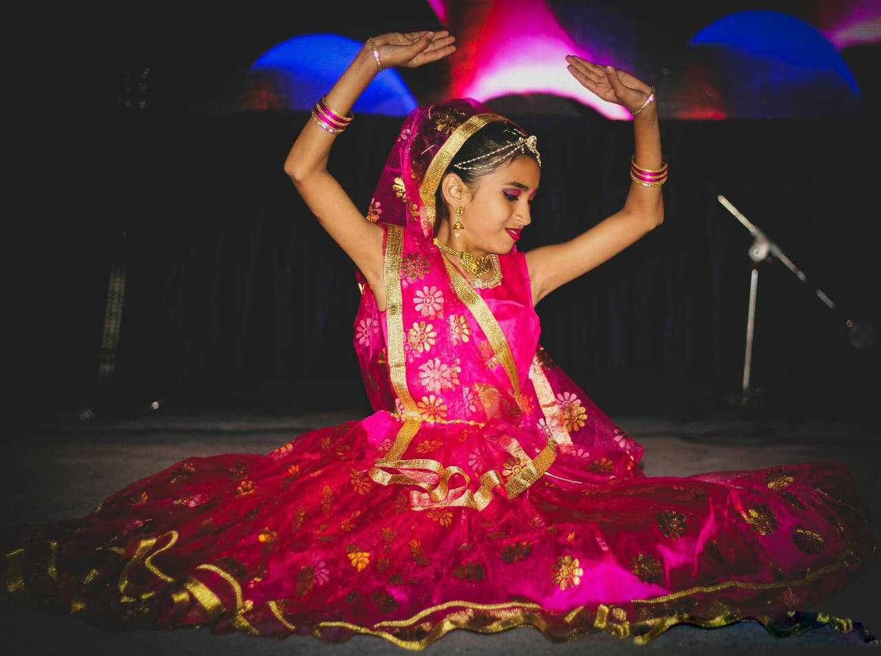 9-year-old Vaibhavi More