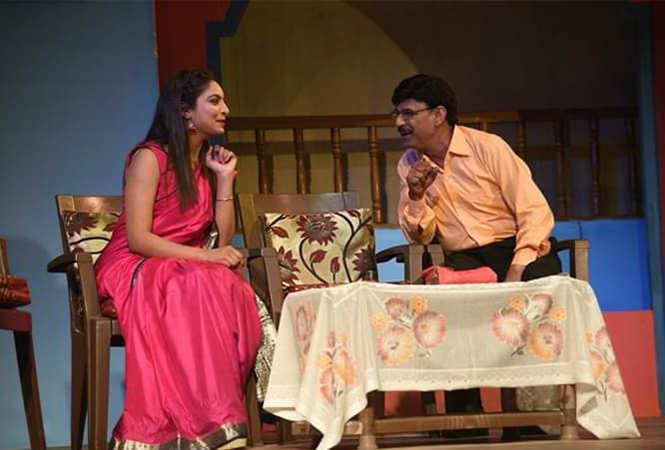 A scene from the play My Sweet Heart (BCCL)